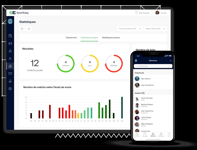 L'app SportEasy de polo