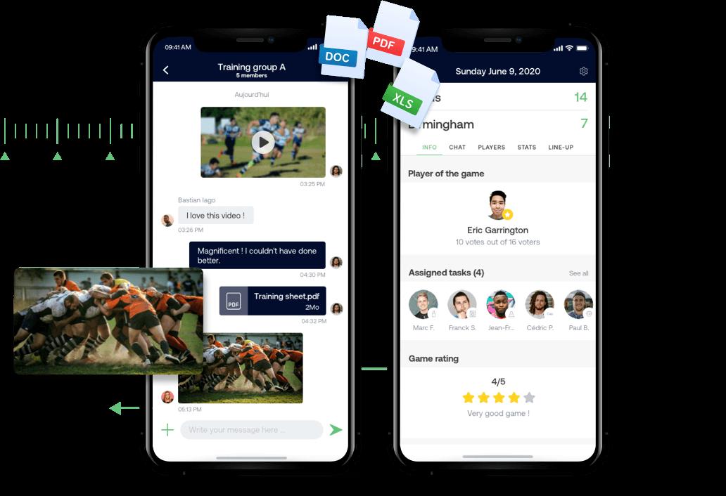 Verwaltung Ihres Rugby Kaders